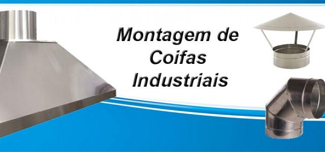 montagem de coifa industrial